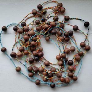 Craft Beads Strands set of 5.